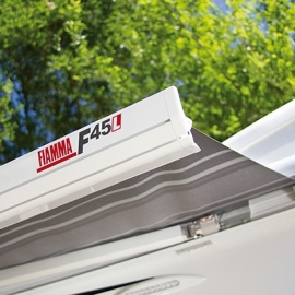 Fiamma F45 L 500 Deluxe Grey Awning. 06530A01T
