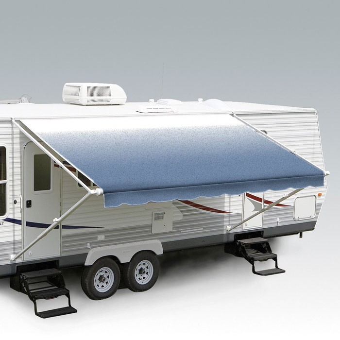 Carefree 18ft Blue Shale Fade Roll Out Awning No Arms