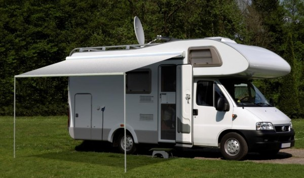 Carefree Freedom 3.5M Silver Shale Fade 12V Box Awning. 351386D25TM - Click to enlarge picture.