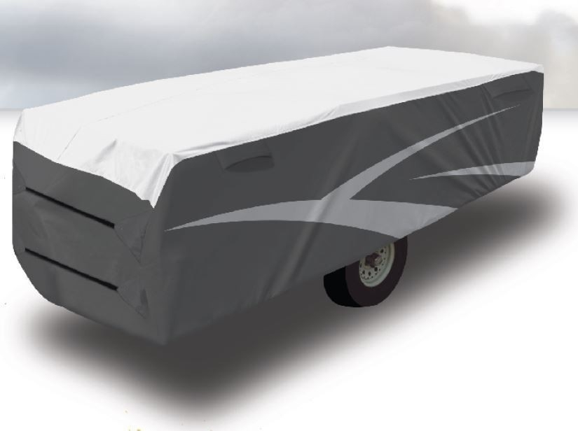 Adco CRVCTC14 Camper Trailer Cover 12-14' (3672-4284mm). 62893 - Click to enlarge picture.