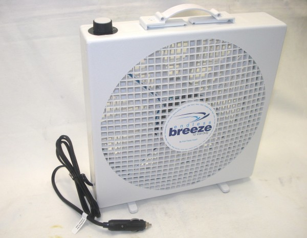 Fantastic Vent Endless Breeze Fan 12V Only. 01100WH - Click to enlarge picture.