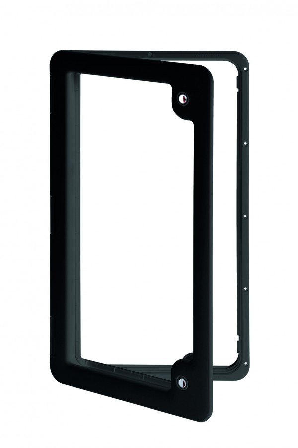 Thetford Service Door 4 Black 385MM X 685MM. 2681827 - Click to enlarge picture.