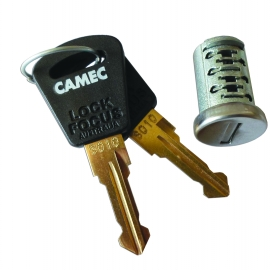 Camec Barrel & Key T/S Main Door Lock. 014392