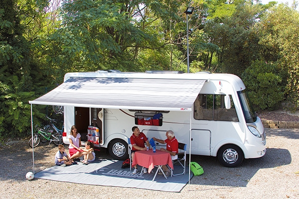 Fiamma F65 L 400 Deluxe Grey Awning. 06858C01T - Click to enlarge picture.