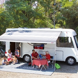 Fiamma F65 L 400 Deluxe Grey Awning. 06858C01T