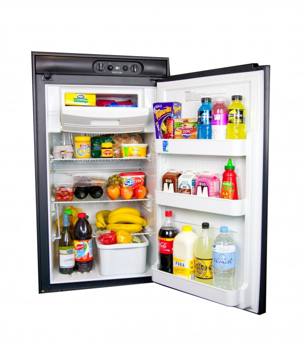 Thetford 164L 3 Way Absorption Fridge. N504M.3R - Click to enlarge picture.