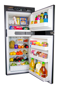 Thetford 184L 3 Way Absorption Fridge. N604.3FR - Click to enlarge picture.