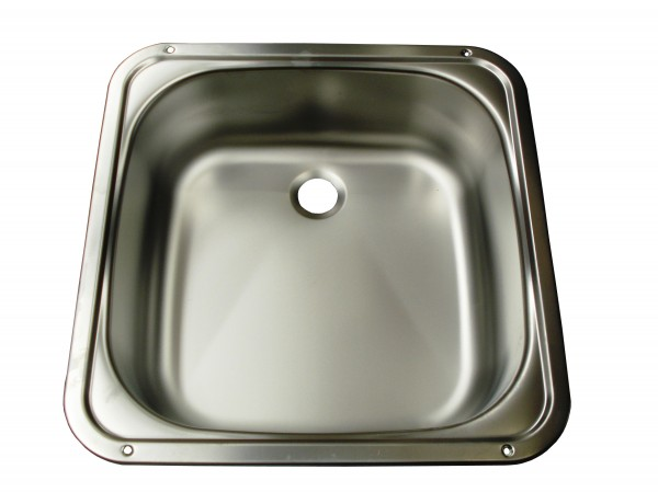 Smev S/S Sink Square Mod 910 370x370x125. T_9102300056 - Click to enlarge picture.