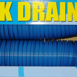 "Valterra 3""x20' Quick Drain Sewer Hose Blue Boxed. D04-0046"